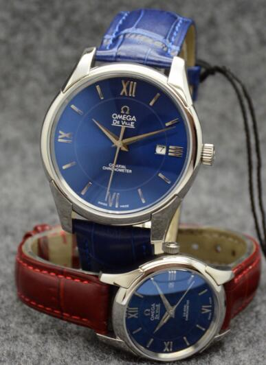 Forever knock-off watches are attractive with blue dials.