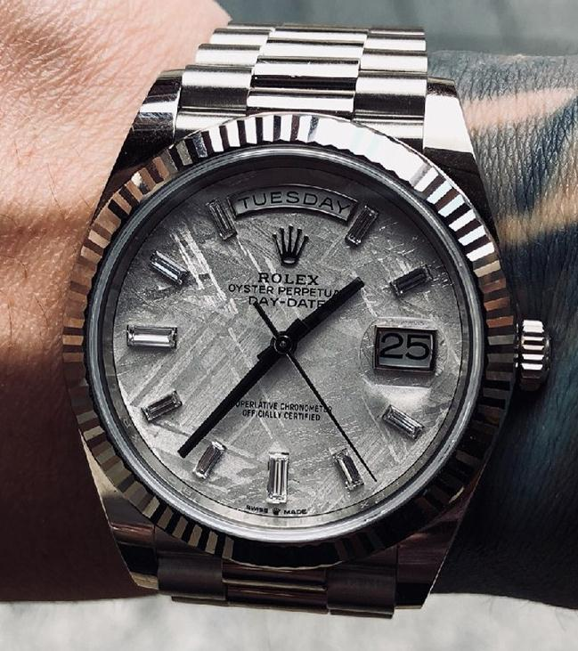 The Rolex Day-Date is very precious.