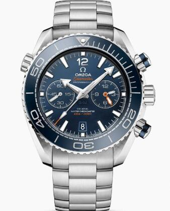 The timepiece is water resistant to a depth of 600 meters.