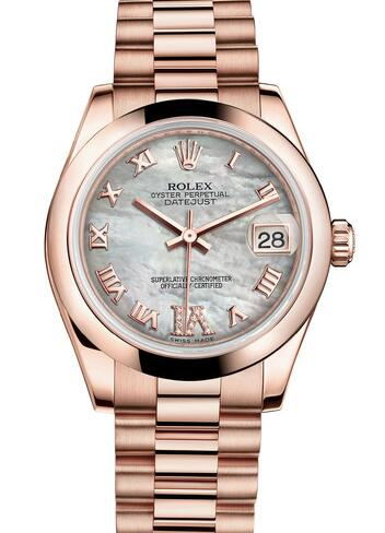 The Everose gold of Rolex is quite different from Omega.