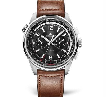 The timepiece is practical as it can display 24 time zones around the world.