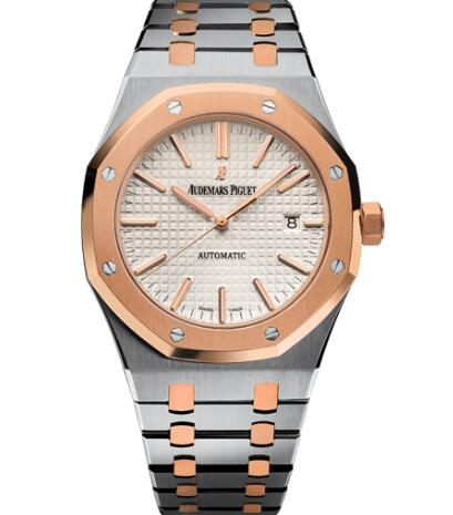 The Audemars Piguet Royal Oak watches are recognizable with iconic elements.