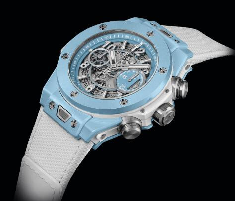 The timepiece embodies the brand's innovation in developing new material.