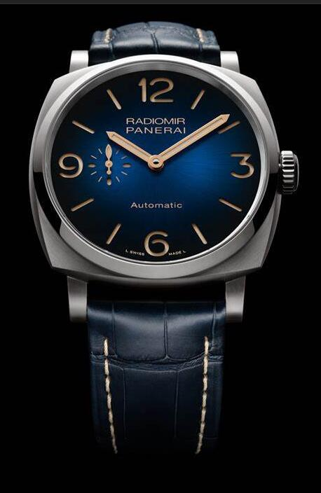Best fake watches are delicate with blue color for the dials and straps.