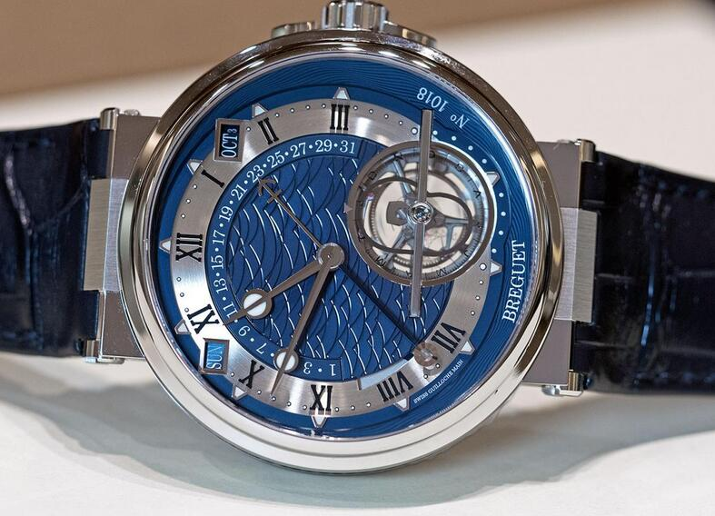 Perfect fake watches demonstrate the refined tourbillon.